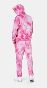 Onepiece Tie Dye Hoodie Pink