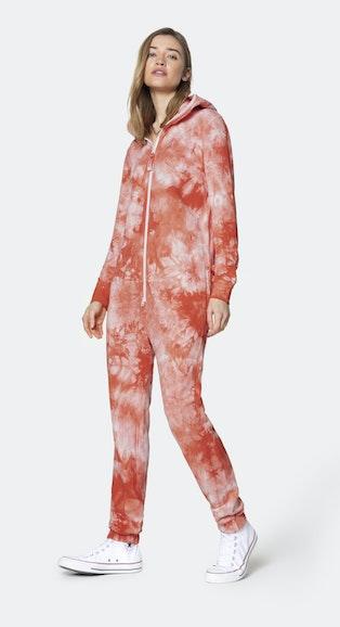 Onepiece Tie Dye jumpsuit Orange