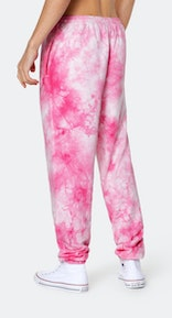 Onepiece Tie Dye Pant Pink