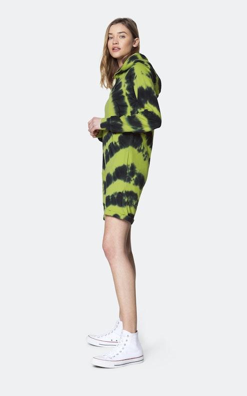 Onepiece Tie Dye short jumpsuit Green