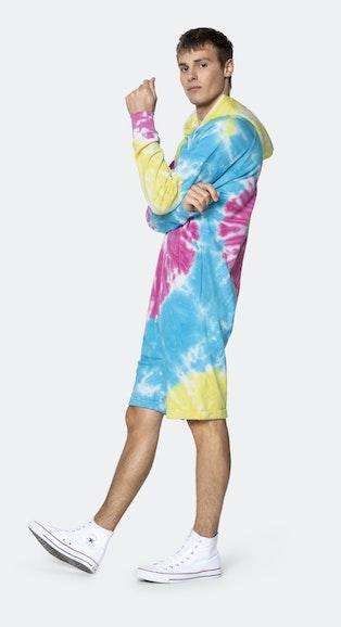 Onepiece Tie Dye short jumpsuit Multi