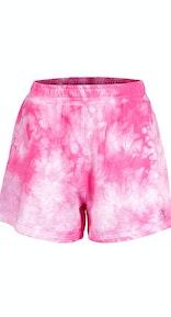 Onepiece Tie Dye Womens Shorts Rose