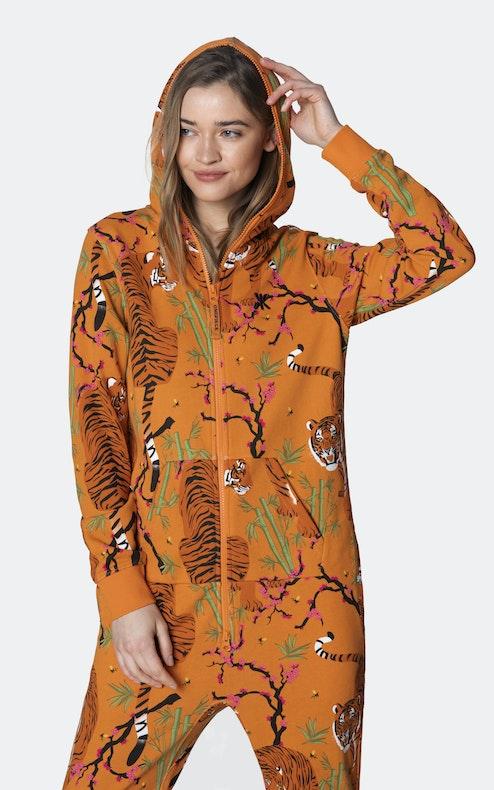 Onepiece Tigress Jumpsuit Orange