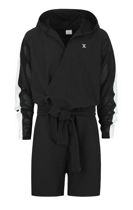 Onepiece Timeout Jumpsuit Noir