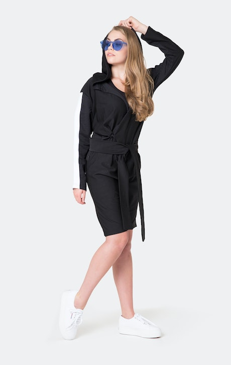 Onepiece Timeout Jumpsuit Black