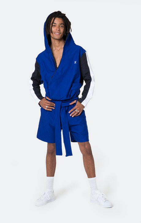 Onepiece Timeout Jumpsuit Cyber Blue