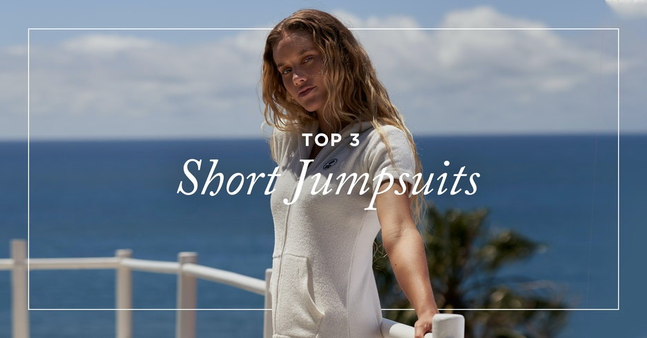 Top 3 short jumpsuits for summer