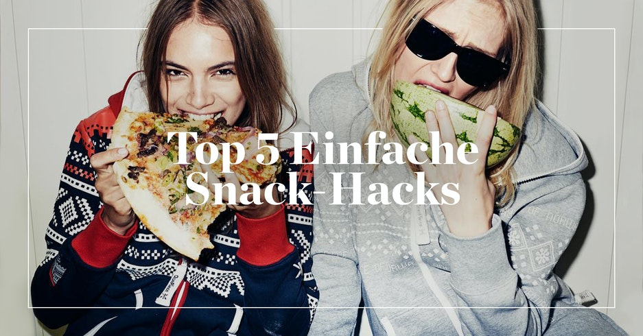 TOP 5 EINFACHE SNACK-HACKS | Onepiece