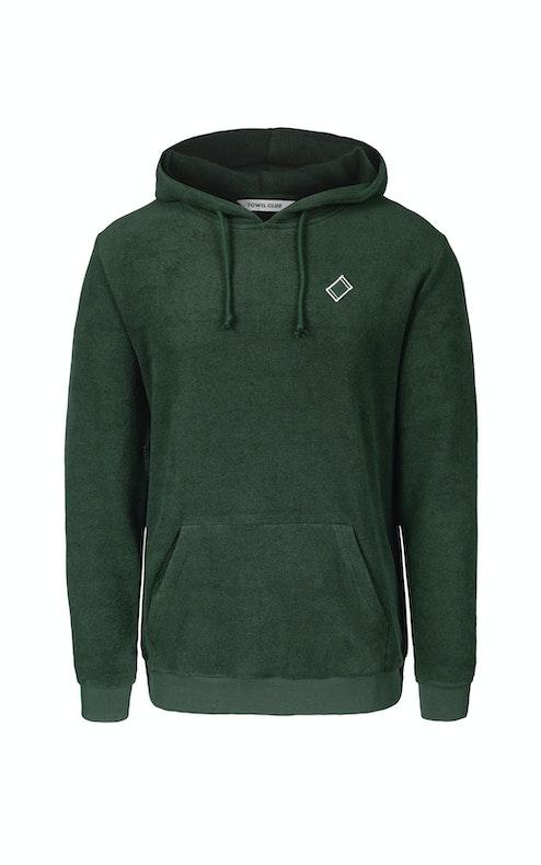 Onepiece Towel Club classic hoodie Green