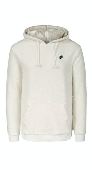 Onepiece Towel Club classic hoodie White