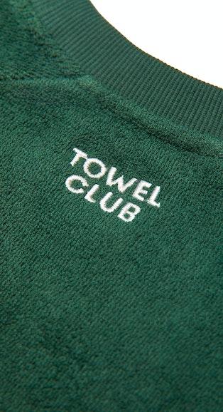 Onepiece Towel Club crewneck Green