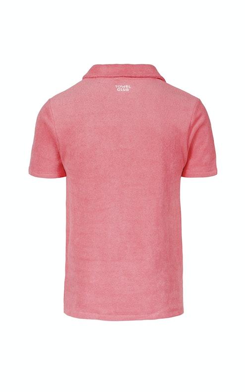 Onepiece Towel Club piquet shirt Coral