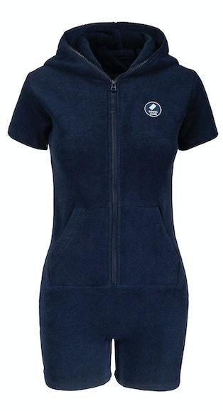 Onepiece Towel Club short slim Jumpsuit Navy