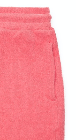 Onepiece Towel Club shorts Coral