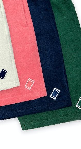 Onepiece Towel Club shorts Weiß