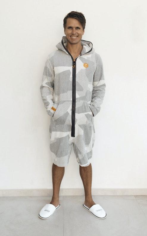 Onepiece Towel Club x C'est Normal Towel Suit Grey