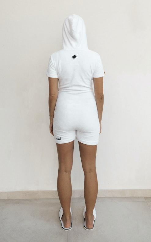 Onepiece Towel Club x C'est Normal Towel Suit Slim Weiß