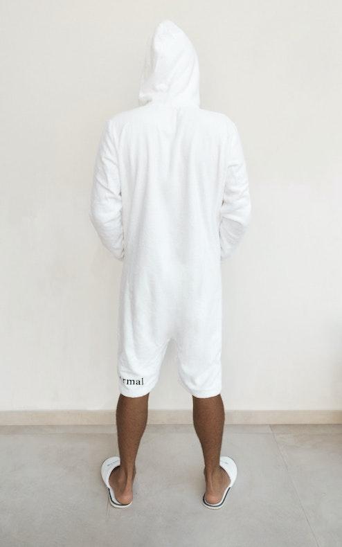 Onepiece Towel Club x C'est Normal Towel Suit White