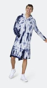 Onepiece Towel Club x Onepiece Towel Jumpsuit Blue tie-dye