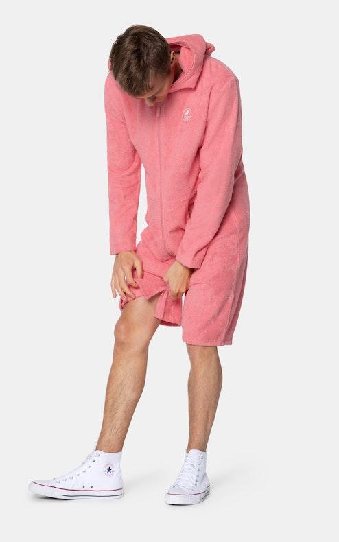 Onepiece Towel Club x Onepiece Towel Jumpsuit Coral