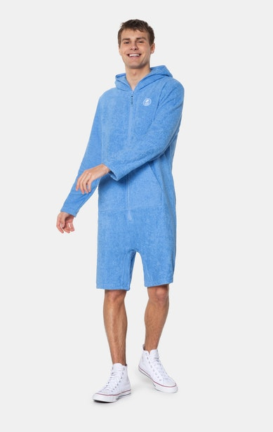 Onepiece Towel Club x Onepiece Towel Jumpsuit Bleu