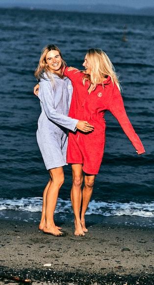 Onepiece Towel Club x Onepiece Towel Jumpsuit Retro Red