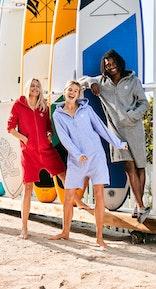 Onepiece Towel Club x Onepiece Towel Jumpsuit Helles lila