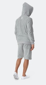 Onepiece Towel Hoodie Grey