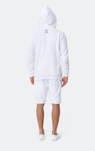Onepiece Towel Hoodie White