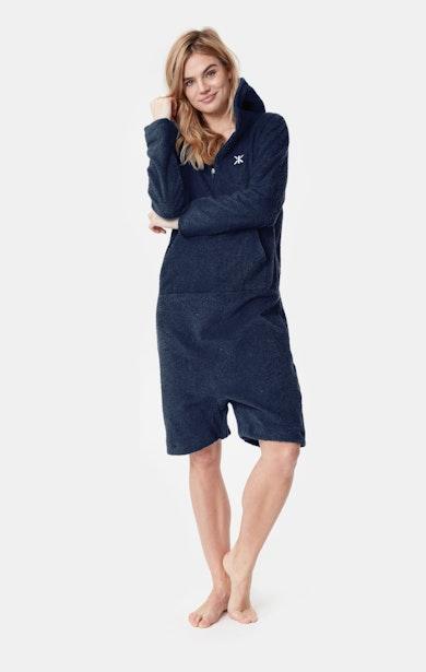 Onepiece Towel Jumpsuit Marineblau
