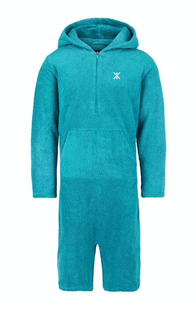 Onepiece Towel Jumpsuit Bleu turquoise