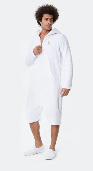Onepiece Towel Jumpsuit White