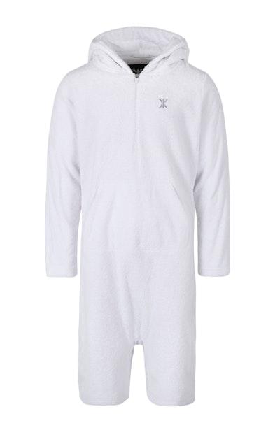 Onepiece Towel Jumpsuit Blanc