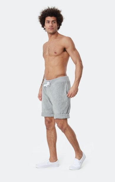 Onepiece Towel Shorts Grau