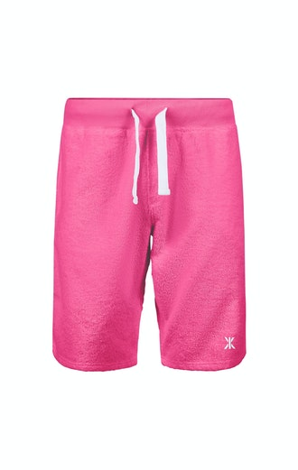 Onepiece Towel Shorts Pink