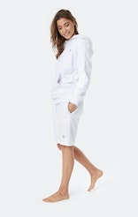 Onepiece Towel Shorts White