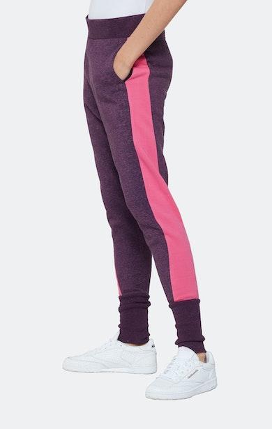 Onepiece Track Jog Pant Purple mix