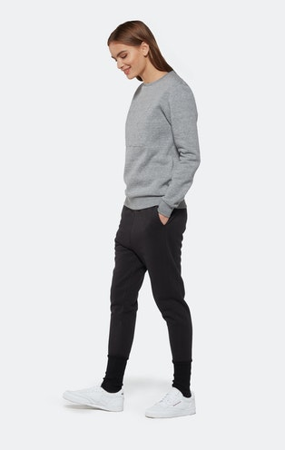 Onepiece Track Sweater Grey Mix