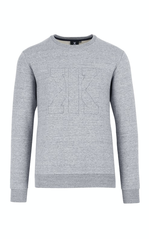 Onepiece Track Sweater Grey Mix