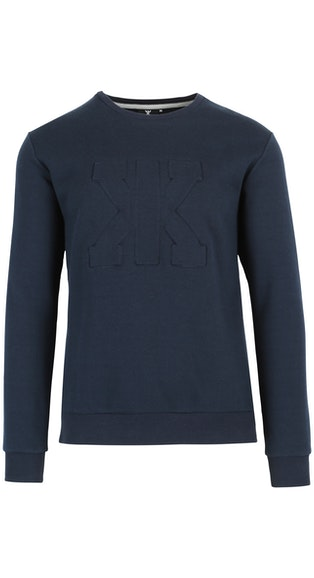 Onepiece Track Sweater Navy