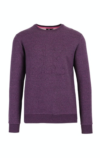 Onepiece Track Sweater Purple mix