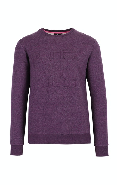 Onepiece Track Sweater Purple mix