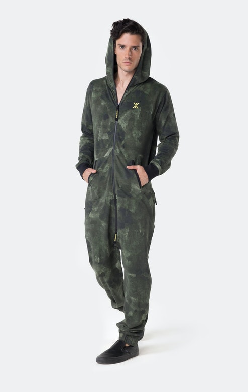 Onepiece Tropic Camo Jumpsuit Army