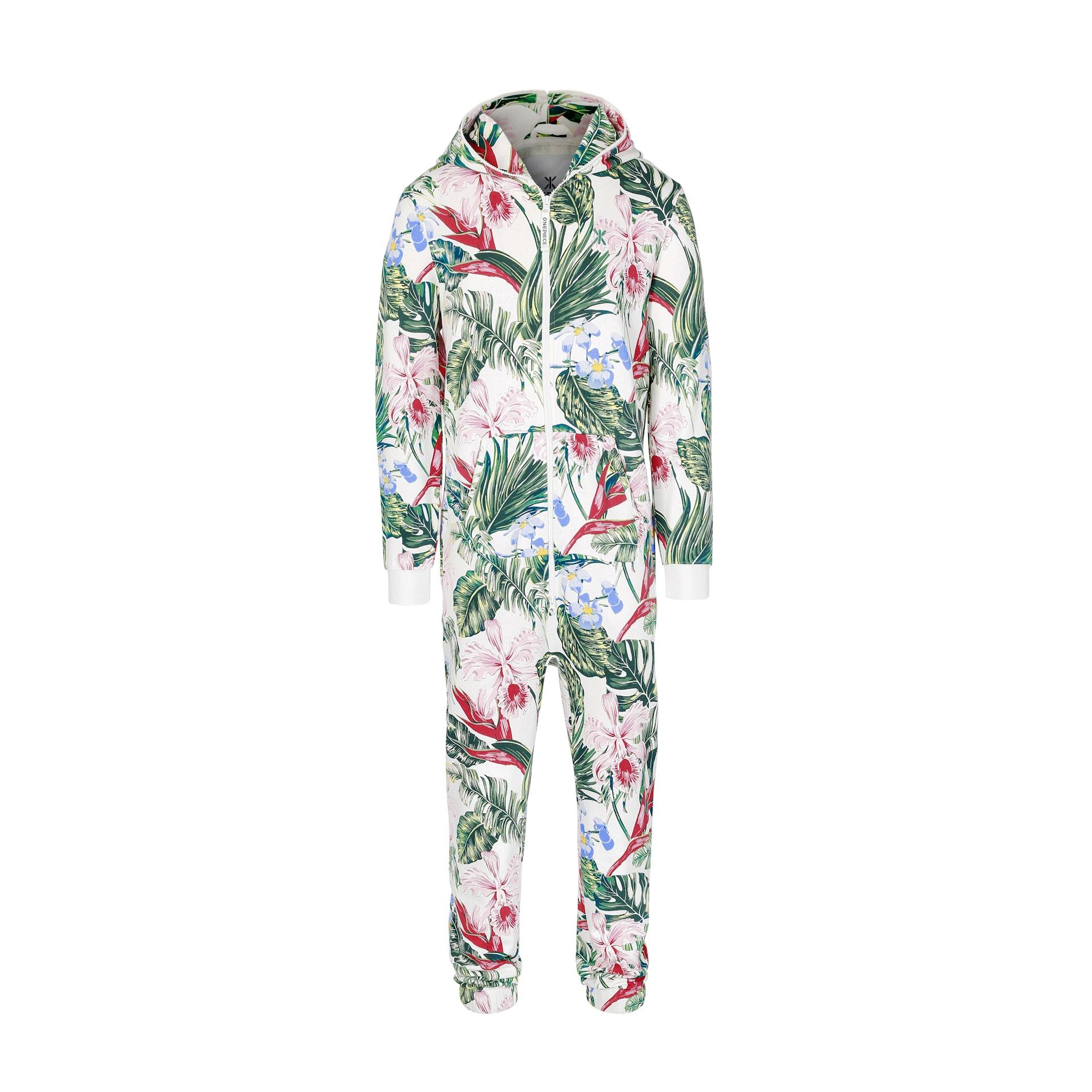 tropicana jumpsuit off-white