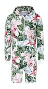 Onepiece Tropicana Short jumpsuit 와인 퍼플