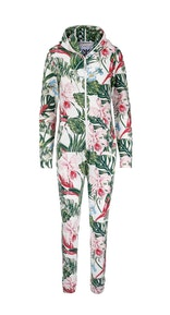 Onepiece Tropicana slim jumpsuit 와인 퍼플