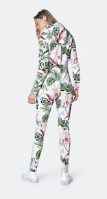 Onepiece Tropicana slim jumpsuit Off White print