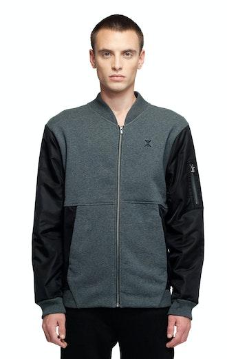 Onepiece True College Jacket Dark Grey Mel / Black