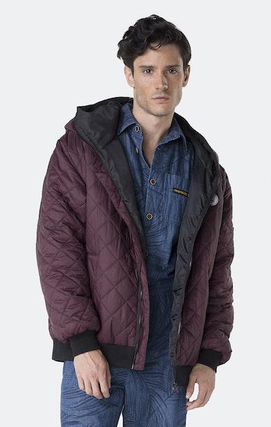 Onepiece Urban Jacket Burgunderrot