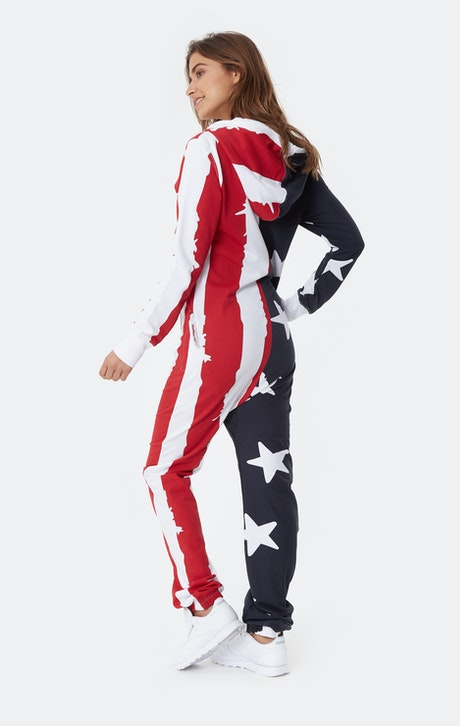 Onepiece USA Onesie Stars and Stripes